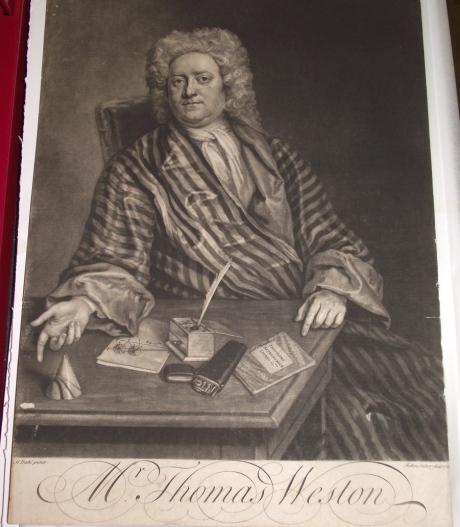 Portrait of Thomas Weston