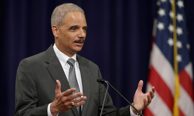 Eric Holder, US attorney general