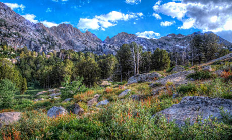 Ruby Mountains near Elko Nevada