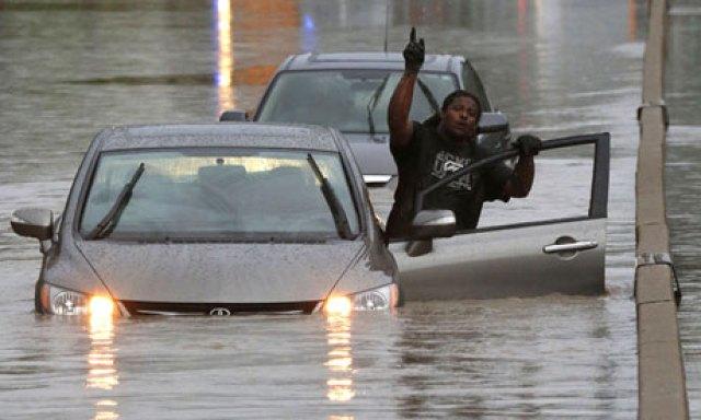 Flooding in Toronto, Canada