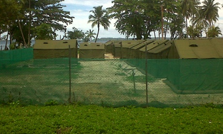 Manus Island detention centre in November 2012
