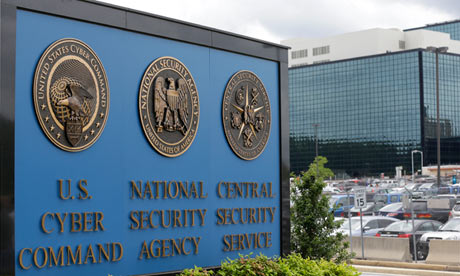 NSA headquarters in Fort Meade, Maryland.