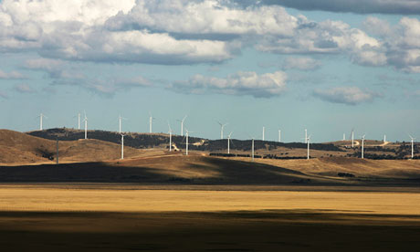 Construction Continues On Controversial Lake George Wind Farm