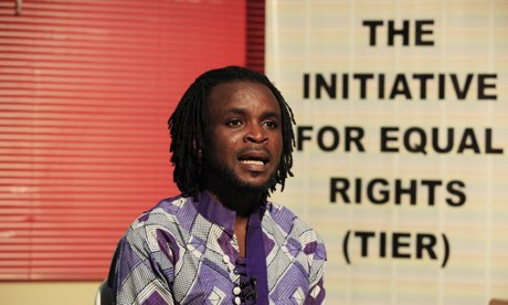 Olumide Makanjuola, a Nigerian LGBT rights worker