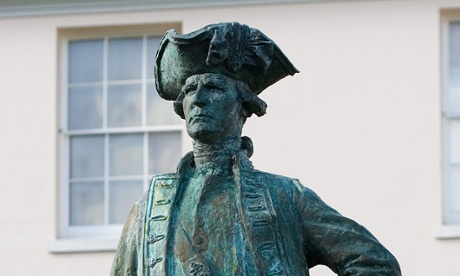 Statue of Captain Cook at Greenwich