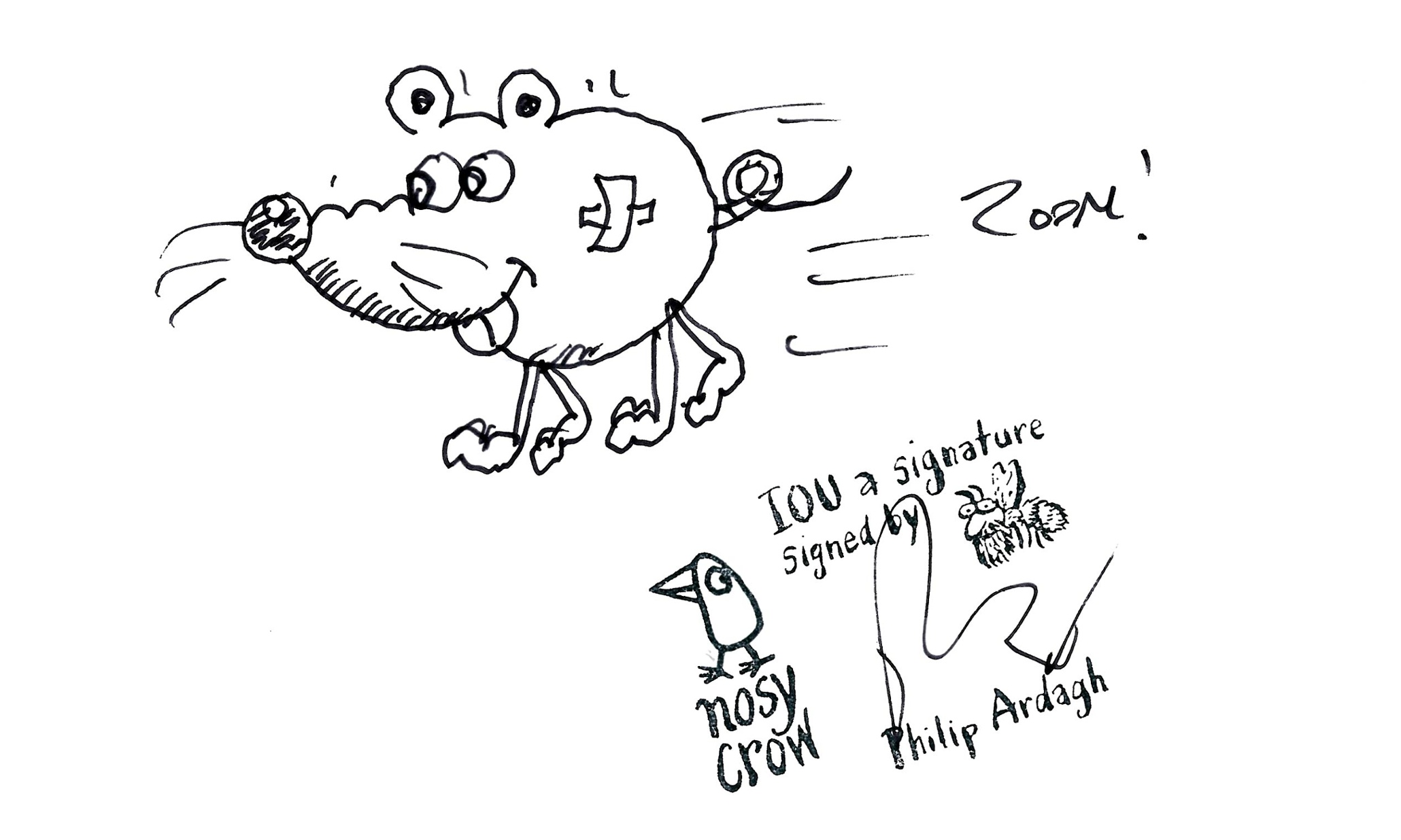 Children's illustrators' doodles: show us your skill and
