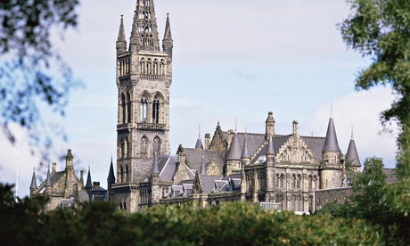 Glasgow University. Photograph: G Richardson/Robert Harding World Imagery/Corbis