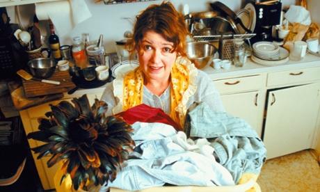 woman housework