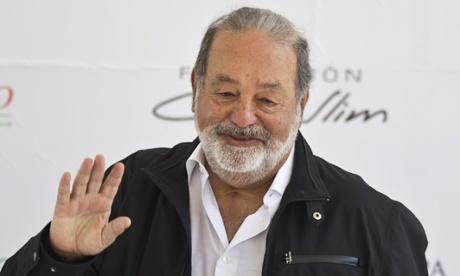According to Oxfam it would take the world's richest man, Carlos Slim, 220 years to spend all his money at a rate of $1m per day