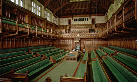Commons Chamber, Houses of Parliament