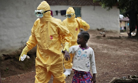 Suspected Ebola patient in Monrovia