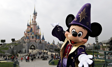 Mickey Mouse at Disneyland Paris