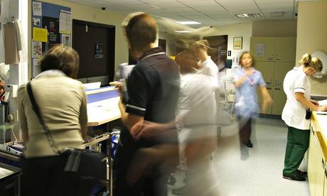 NHS hts ospital ward reception