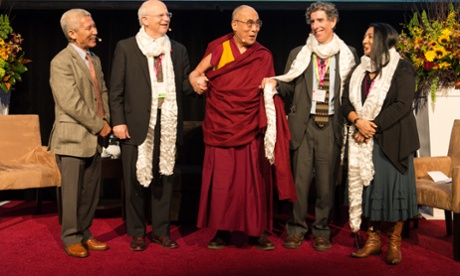 Dalai Lama and scientists