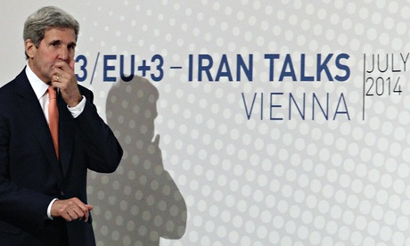 John Kerry, the US secretary of state, in Vienna in July for talks between the EU3+3 and Iran