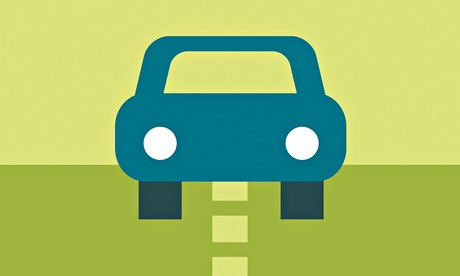 car green graphic