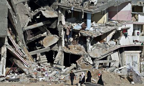 Palestine, ruined building