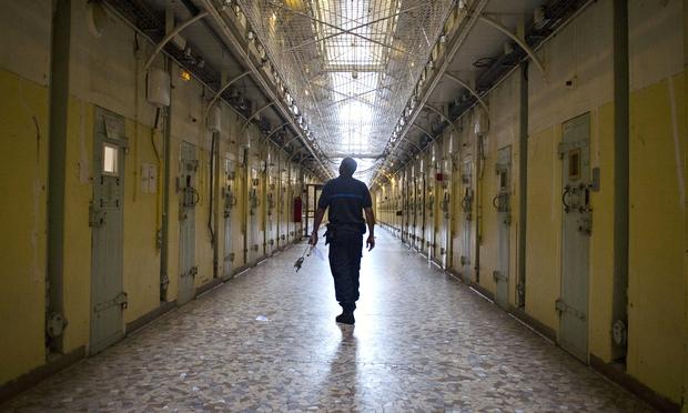 La Sant Prison Visitors Welcome World News The Guardian