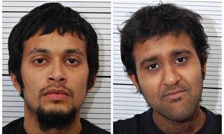 Mohammed Nahin Ahmed and Yusuf Zubair Sarwar, both of Birmingham, were sentenced to nearly 13 years