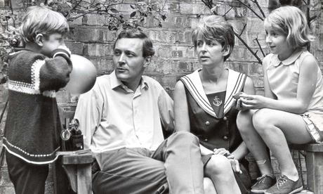 Tony Benn with his family in 1966.