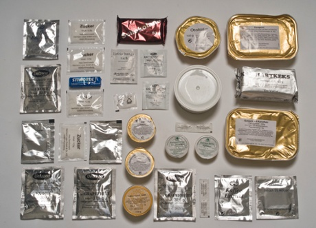 German Army ration pack.