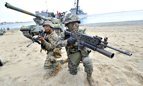 South Korea US drills