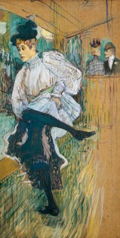 Jane Avril Dancing Toulouse Lautrec