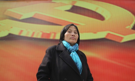 Cao Shunli, the Chinese activist who died in custody.