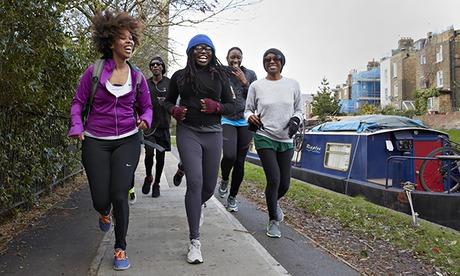Join a social running group - Bim Adewunmi for Do Something