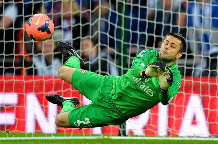FA Cup semi: Fabianski saves