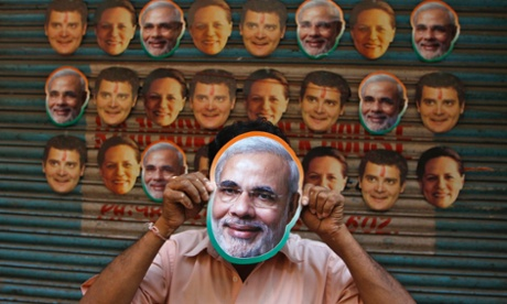 Narendra Modi mask