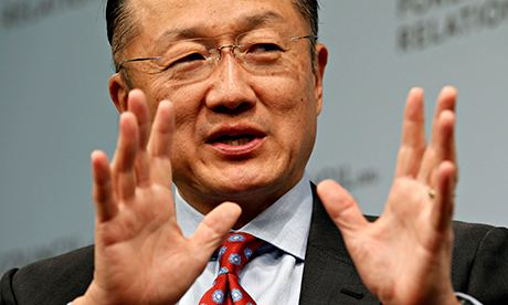 World Bank President Jim Yong Kim speaks