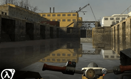 Half-Life 2 was developed for the Shield by its maker Nvidia.