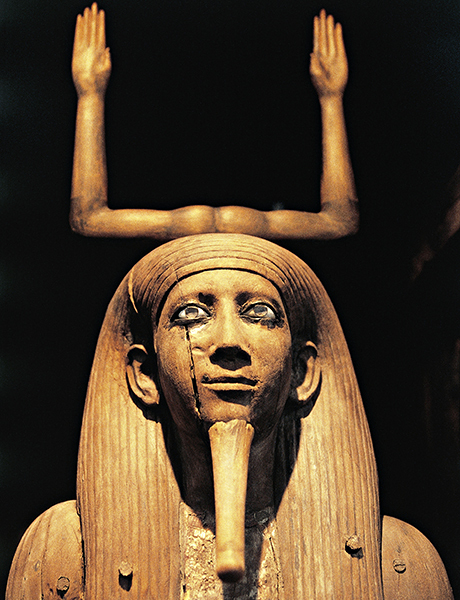 Statue of King Auib Ka-Ra-Hor