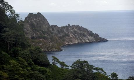 Cocos islandvisita al monte el aguacate donde va a estar el radar donado por Costa Rica