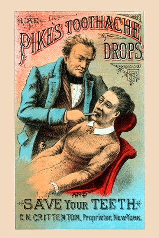 Another Victorian trade card for an early form of toothpaste