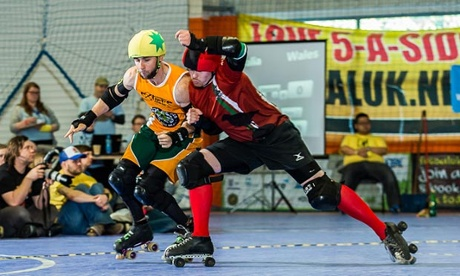 Men's roller derby is growing in popularity across the world.