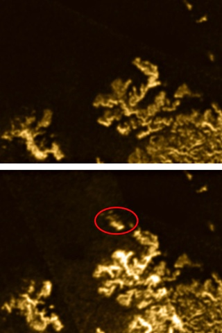 'Magic island' found on Saturn moon Titan