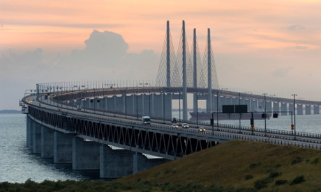 Oresund Bridge links Malmo and Copenhagen, two cities committed to tackling crime through better design and planning.