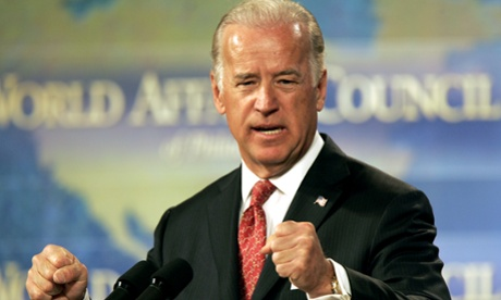 Joe Biden delivers a speech during the World Affairs Council of Philadelphia conference in Philadelphia in 2006. As Iraq edges toward chaos, Vice President Joe Biden is having a quiet I-told-you-so moment. As a senator in 2006, Biden proposed that Iraq be divided into three semi-independent regions for Shia, Sunnis and Kurds.