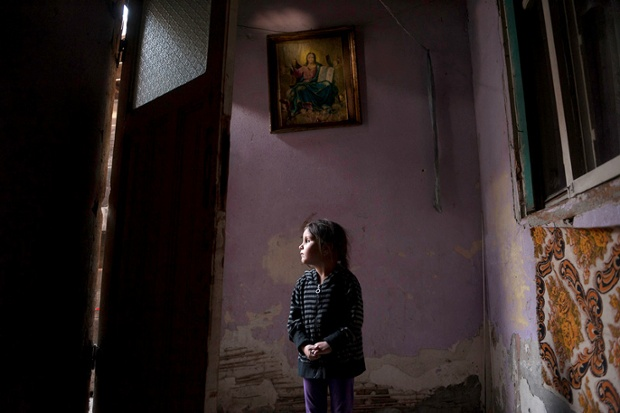 Four-year-old Ana-Maria Tudor lives in Bucharest, Romania. Her father is too ill to work and the family face eviction from their one room home which has no bathroom or running water.