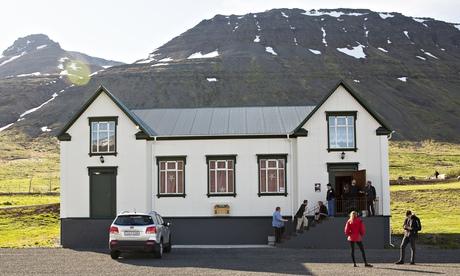 Iceland european film festival Sudavik village hall metalhead ragnar bragason