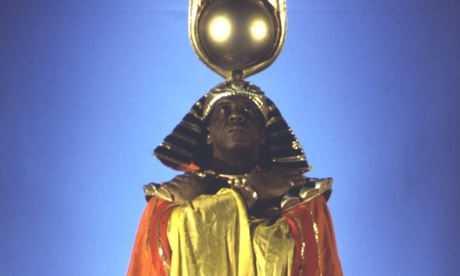 Sun Ra in the film Space is the Place.