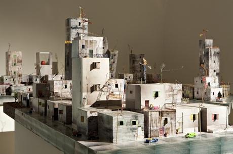 Wafa Hourani's Qalandia 2087 installation