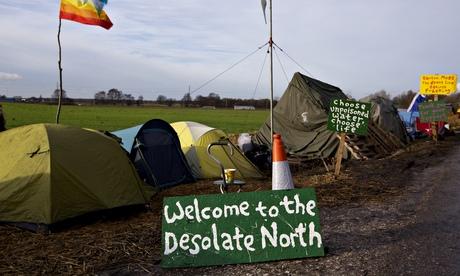 Fracking protest camp