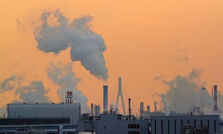 IPCC meeting in Yokohama : CO2 emissions Japan sets new greenhouse gas emissions reduction target