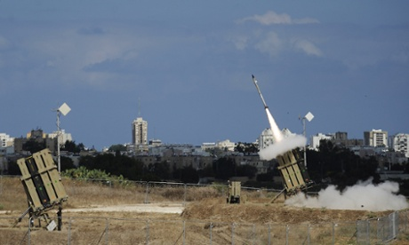 iron dome missile system
