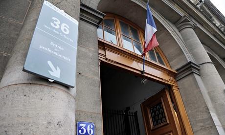 Paris police headquarters at 36 Quai des Orfèvres