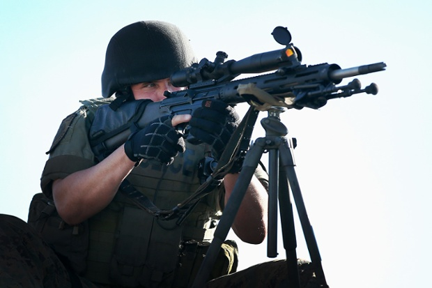 ferguson getty sniper