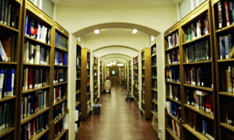 Law library at University College London